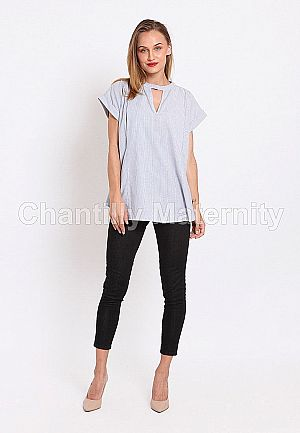Chantilly Maternity/Nursing Top 23010 S.BL