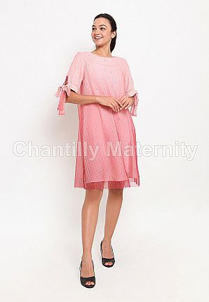 Chantilly Maternity Party Dress 51042 PK