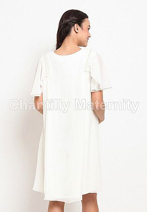 Chantilly Dress Party Maternity/Nursing 53060
